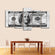 All About The Benjamins Multi Panel Canvas Wall Art