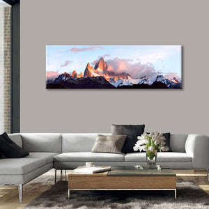 Amazing Andes Mountains Multi Panel Canvas Wall Art - Nature