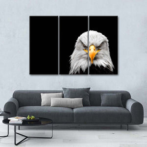 American Bald Eagle Multi Panel Canvas Wall Art - Bird