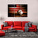 American Baseball Multi Panel Canvas Wall Art