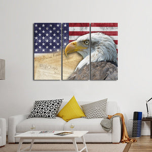 American History Multi Panel Canvas Wall Art
