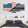 American Police United Multi Panel Canvas Wall Art