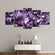 Amethyst Geode Multi Panel Canvas Wall Art