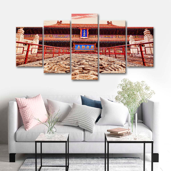 Ancient China Multi Panel Canvas Wall Art