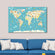 Animal World Multi Panel Canvas Wall Art