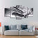 Antique Aircraft Multi Panel Canvas Wall Art