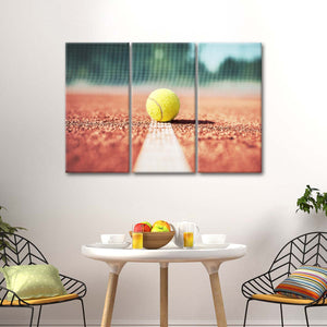 Approach Shot Multi Panel Canvas Wall Art - Tennis