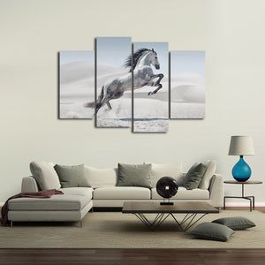 Arabian Horse Multi Panel Canvas Wall Art - Horse