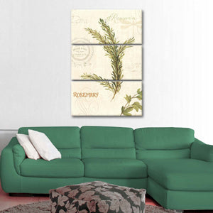 Aromantique II Multi Panel Canvas Wall Art - Botanical