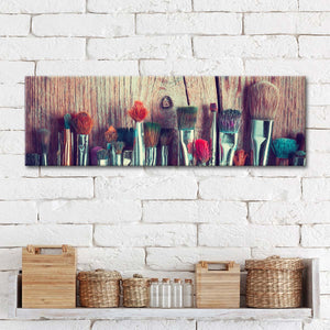 Artist's Paint Brushes Multi Panel Canvas Wall Art - Painter