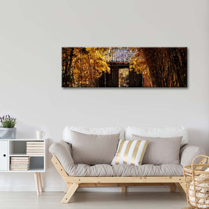 Bamboo Forest Gate Multi Panel Canvas Wall Art - Nature