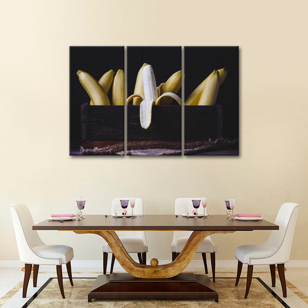 Bananas Multi Panel Canvas Wall Art