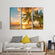 Barbados Island Multi Panel Canvas Wall Art