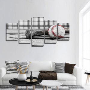 Baseball Practice Pop Multi Panel Canvas Wall Art - Baseball