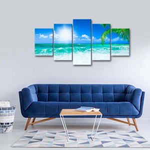 Beach Daydream Multi Panel Canvas Wall Art - Beach