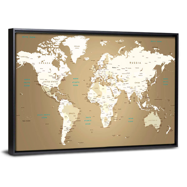 Push pin world map multi panel canvas wall art push pin world map multi panel canvas wall art gumiabroncs Choice Image