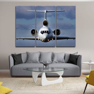 Belong in the Air Multi Panel Canvas Wall Art - Airplane