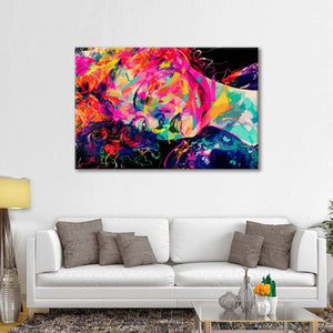 Bette Multi Panel Canvas Wall Art - Public_figures