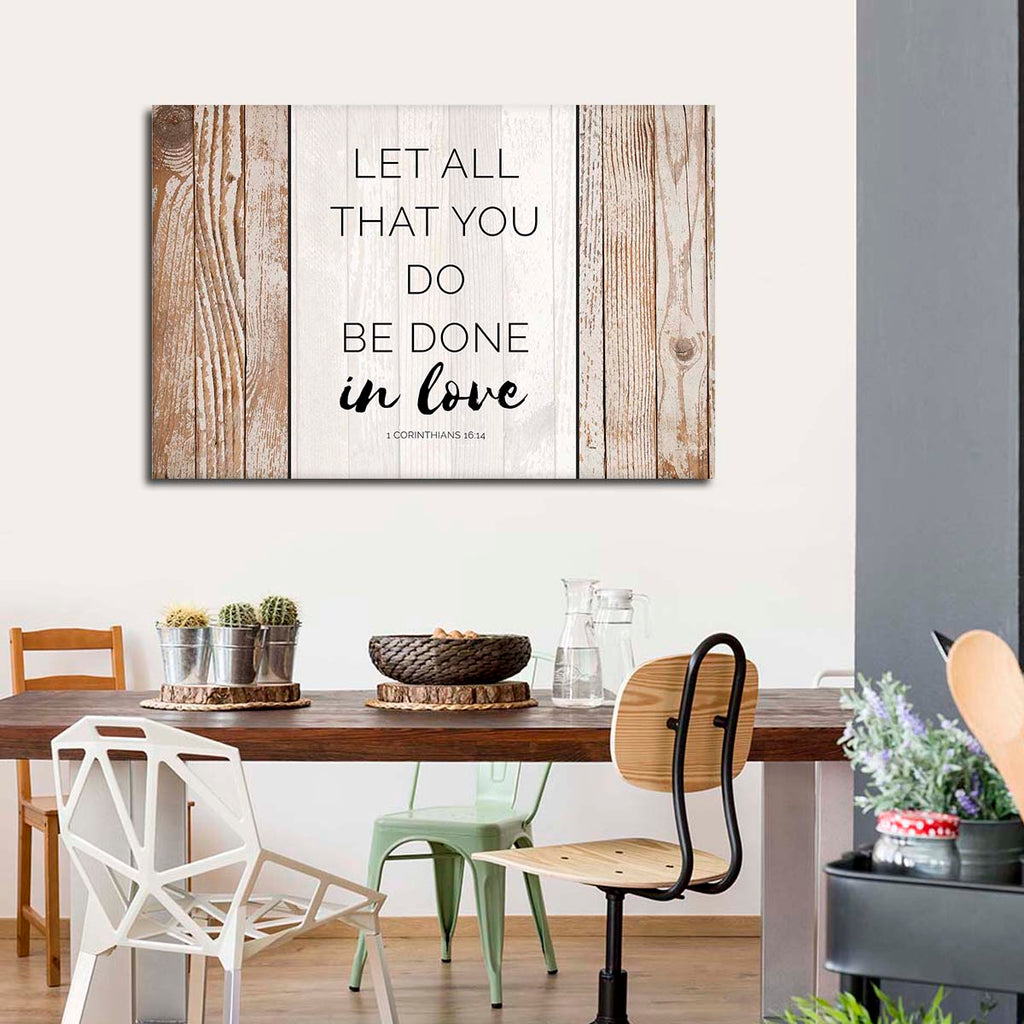 Bible Verse Canvas Wall Art | ElephantStock