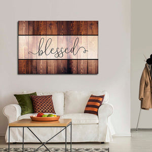 Blessed Canvas Wall Art - Inspiration