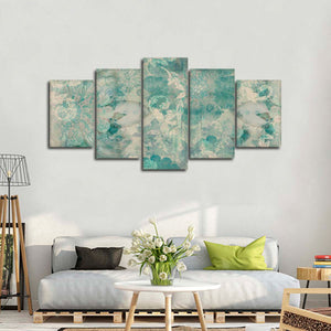 Blossoming Dream Multi Panel Canvas Wall Art - Shabby_chic