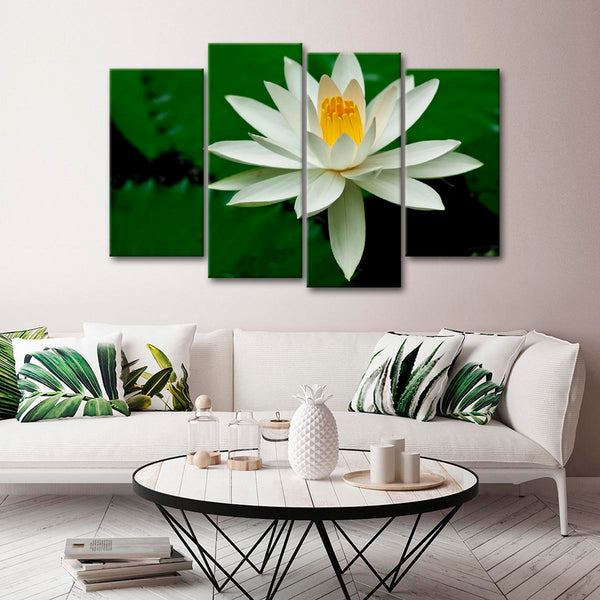 Blossoming in Nature Multi Panel Canvas Wall Art | ElephantStock
