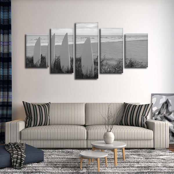 Board View Multi Panel Canvas Wall Art