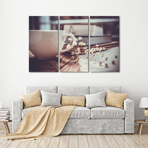 Book Of The Day Multi Panel Canvas Wall Art - Education