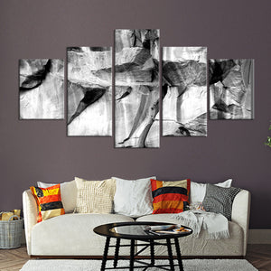 Boulder Climb Multi Panel Canvas Wall Art - Macro