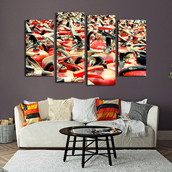 Bountiful Extinguishers Multi Panel Canvas Wall Art