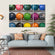 Bowling Balls Multi Panel Canvas Wall Art