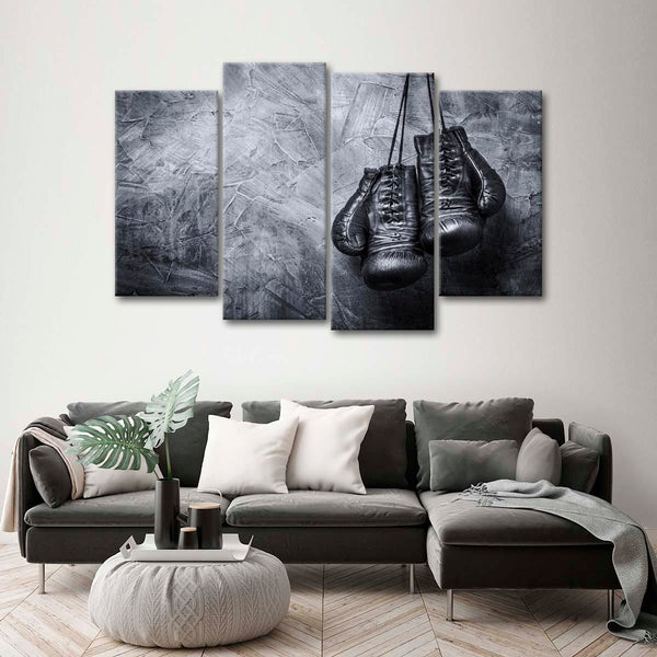 Boxing Gloves Multi Panel Canvas Wall Art