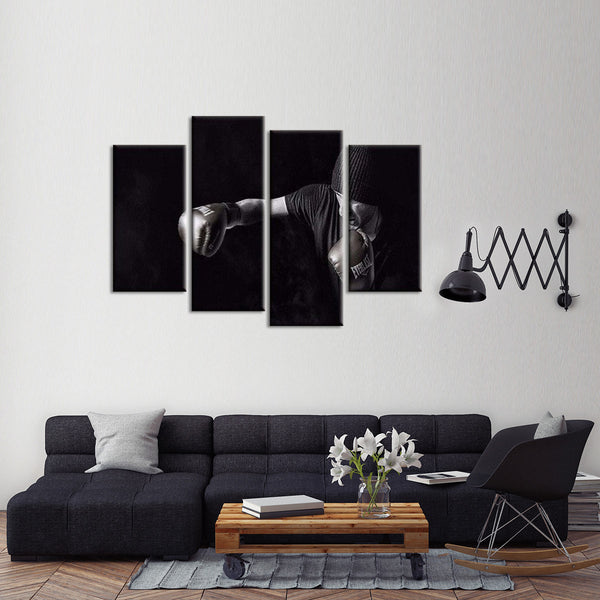 Boxing Inspiration Multi Panel Canvas Wall Art