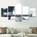 Break The Stereotype Multi Panel Canvas Wall Art