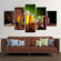 Brew Beer Multi Panel Canvas Wall Art
