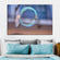 Bubble Focus Multi Panel Canvas Wall Art