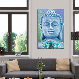 Peace Within Multi Panel Canvas Wall Art - Buddhism