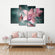 Butterfly Orchid Multi Panel Canvas Wall Art