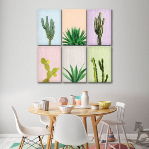 Cactus Canvas Set Wall Art - Botanical