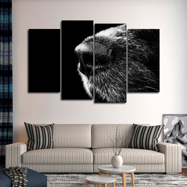 Canine Nose Multi Panel Canvas Wall Art
