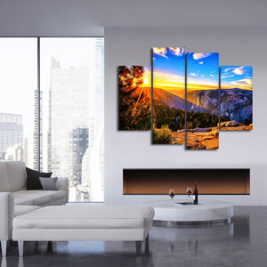 Canyonlands Sunrise Multi Panel Canvas Wall Art - Nature