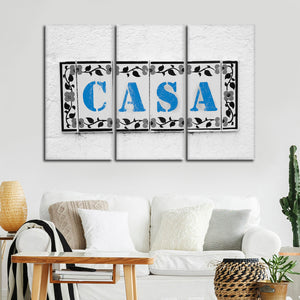 Casa Pop Multi Panel Canvas Wall Art - Kitchen