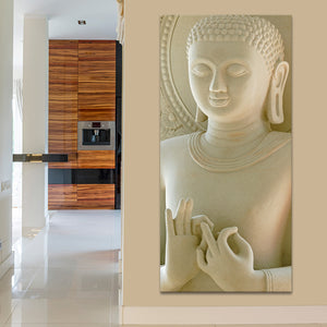 Centered from Within Multi Panel Canvas Wall Art - Buddhism