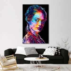 Cersei Multi Panel Canvas Wall Art - Public_figures