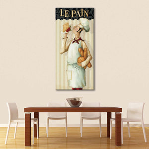 Chefs Masterpiece III Multi Panel Canvas Wall Art - Kitchen