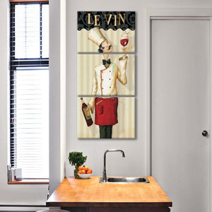 Chefs Masterpiece I Multi Panel Canvas Wall Art - Kitchen
