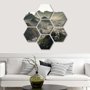Civilization In Nature Multi Panel Canvas Wall Art - Brazil