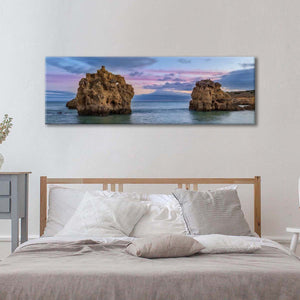 Cliff Coast Multi Panel Canvas Wall Art - Nature