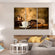 Coffee In Making Multi Panel Canvas Wall Art