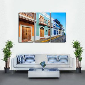 Colorful San Juan Multi Panel Canvas Wall Art - Village